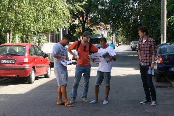 Distribuirea pliantelor in cartierul Grant-Belvedere (3)