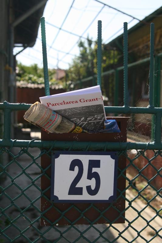 Distribuirea pliantelor in cartierul Grant-Belvedere (4)